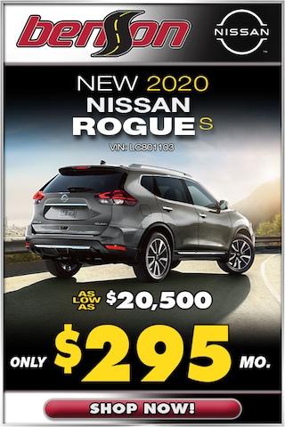 New 2020 Nissan Rogue