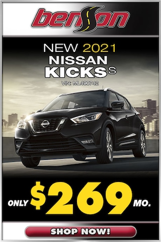 New 2021 Nissan Kicks