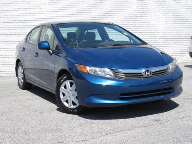 Used 2012 Honda Civic LX Sedan For Sale Greer, SC