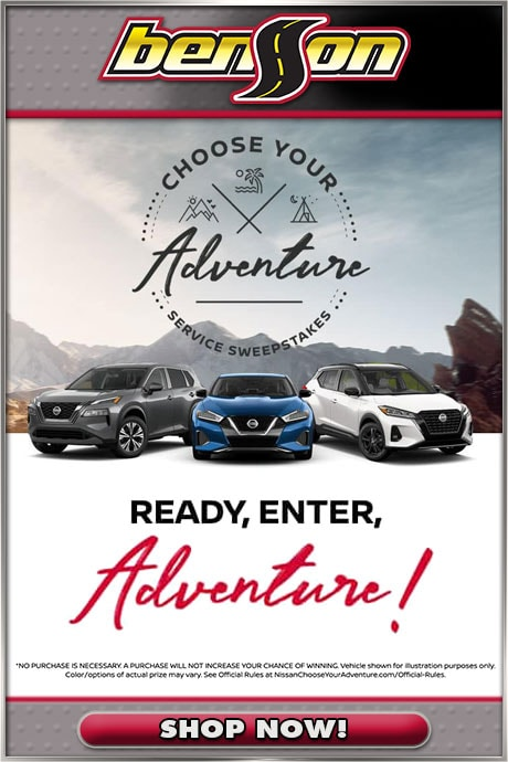 Choose Your Adventure Sweepstakes
