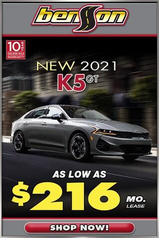New 2021 Kia K5