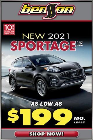 New 2021 Kia Sportage