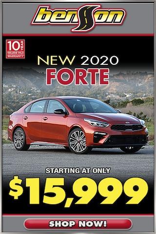 New 2020 Kia Forte