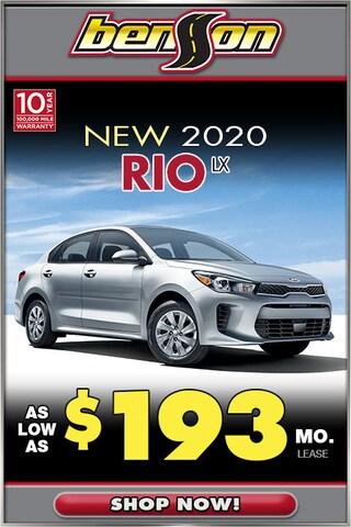 New 2020 Kia Rio LX