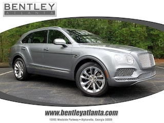 2019 Bentley Bentayga Front Seat Comfort Specification V8 AWD