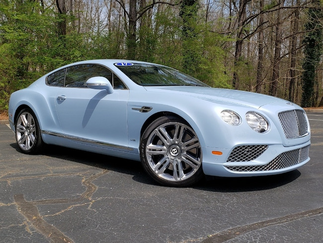 2017 Bentley Continental GT W12 Mulliner Coupe