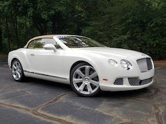 2012 Bentley Continental GT W12 Convertible