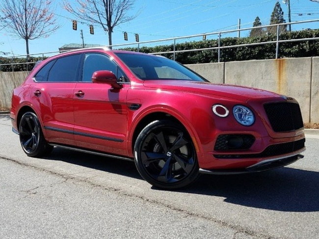 2018 Bentley Bentayga Black Edition W12 Signature AWD