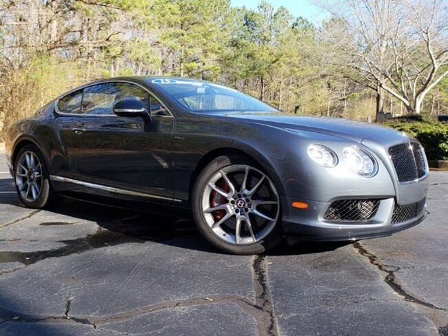 2015 Bentley Continental GT V8 S Mulliner Coupe