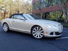 2012 Bentley Continental GTC Mulliner W12 Convertible