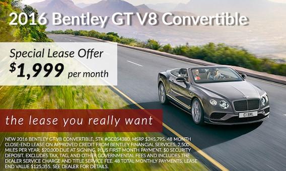 2016 Gt V8 Convertible Bentley Lease In Atlanta