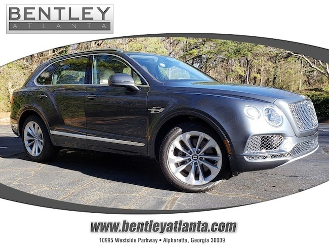 2019 Bentley Bentayga City Specification V8 AWD