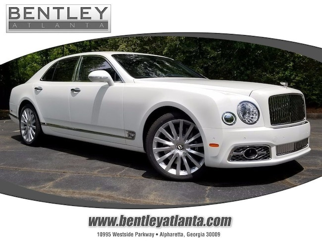 2019 Bentley Mulsanne Mulliner Driving Specification Sedan