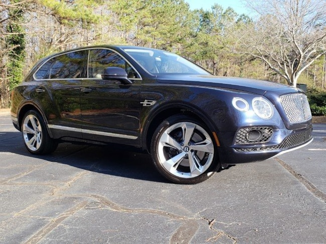 2018 Bentley Bentayga MSRP $250,145 W12 AWD