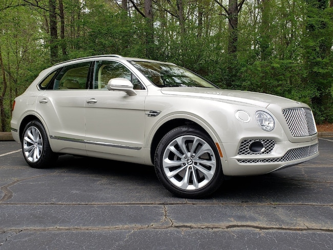 2018 Bentley Bentayga Onyx Edition W12 AWD
