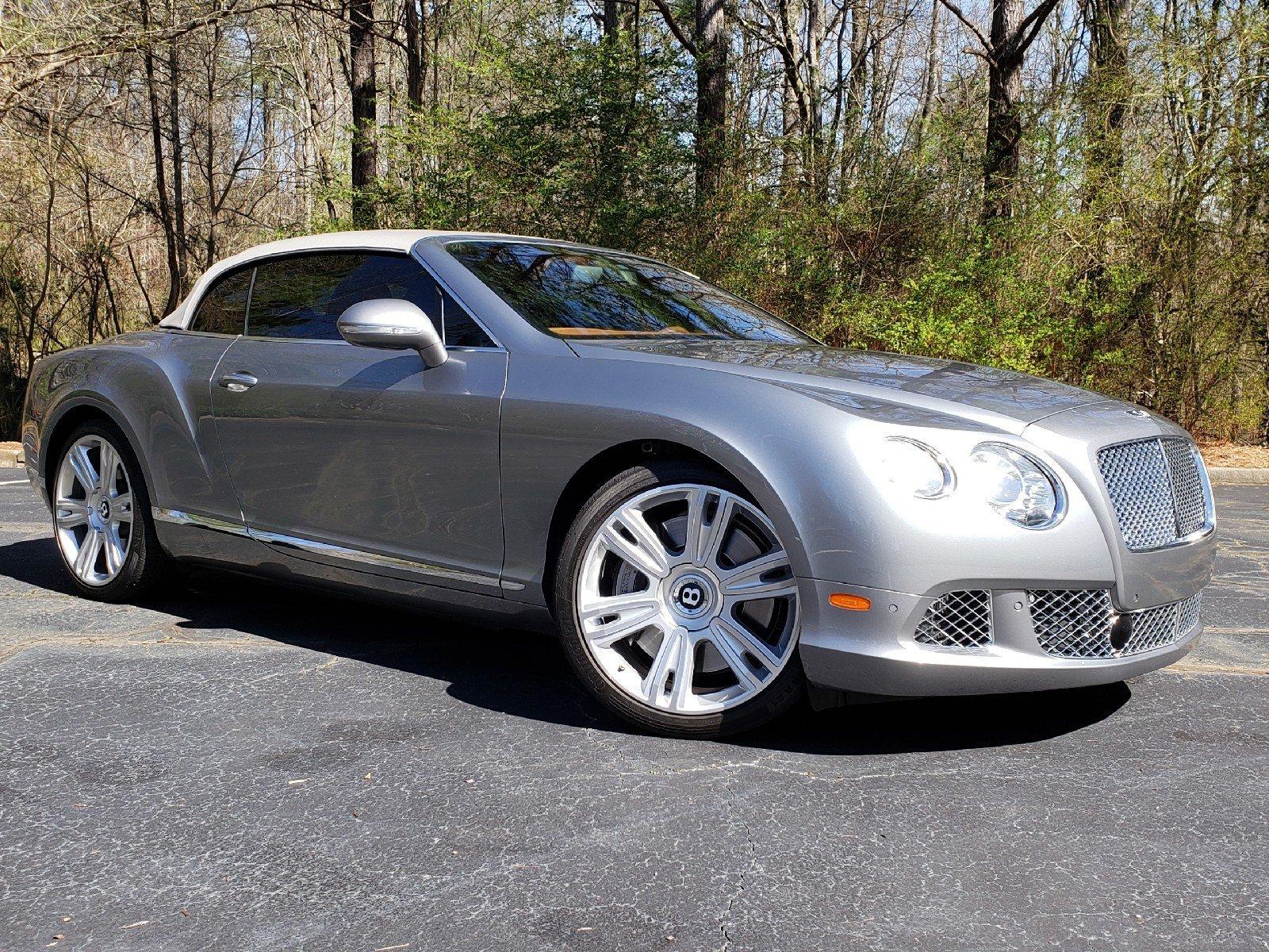 2013 Bentley Continental GTC W12 Mulliner Convertible