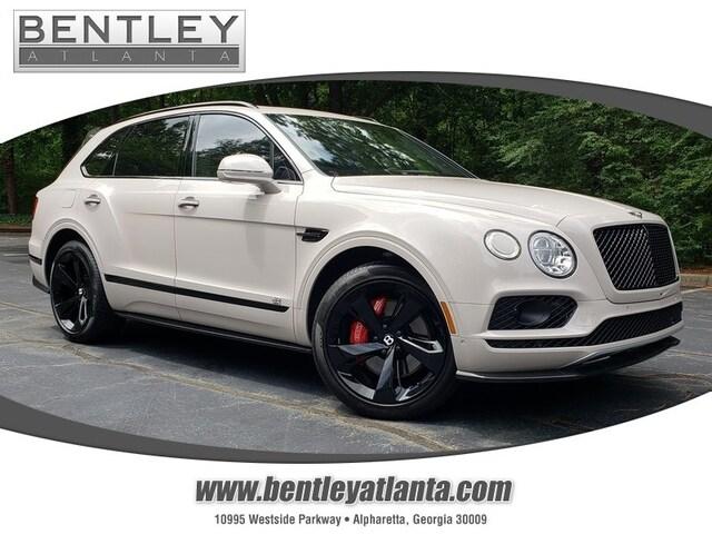 2019 Bentley Bentayga Black Specification V8 AWD
