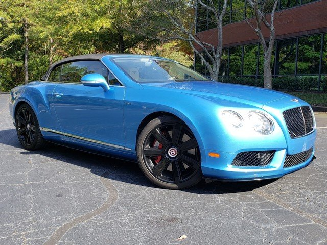 2015 Bentley Continental GTC V8 S Mulliner Convertible