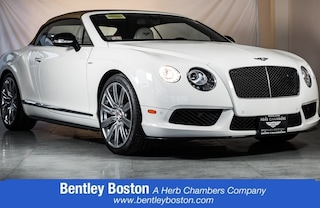 Pre-Owned 2014 Bentley Continental V8 S Convertible R281A near Boston, MA