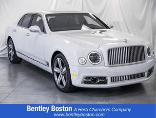 Certified Pre-Owned 2017 Bentley Mulsanne Speed Sedan for sale near you in Boston