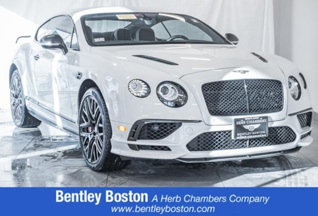Pre-Owned 2017 Bentley Continental GT Supersports Coupe near Boston, MA