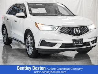 Used luxury cars, trucks, and SUVs 2017 Acura MDX w/Technology Pkg SUV for sale near you in Wayland, MA near Boston