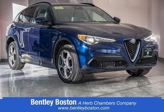 Pre-Owned 2018 Alfa Romeo Stelvio Sport SUV XLA250 near Boston, MA