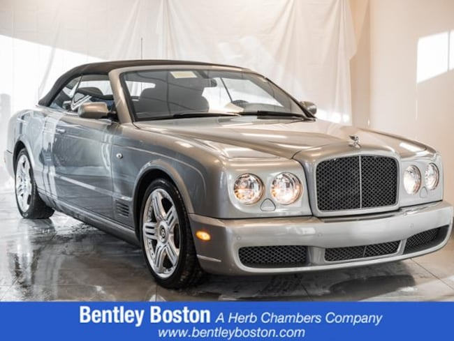 Pre-Owned 2010 Bentley Azure T Convertible near Boston, MA