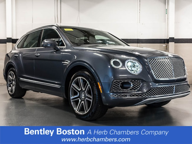 New 2018 Bentley Bentayga Activity SUV near Boston, MA