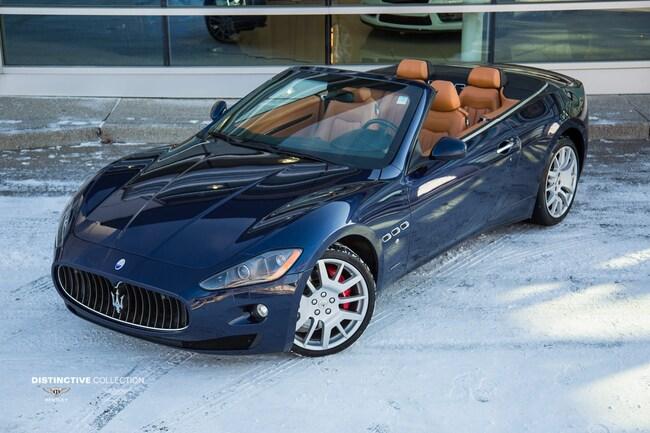 2011 Maserati Granturismo Convertible Cabriolet