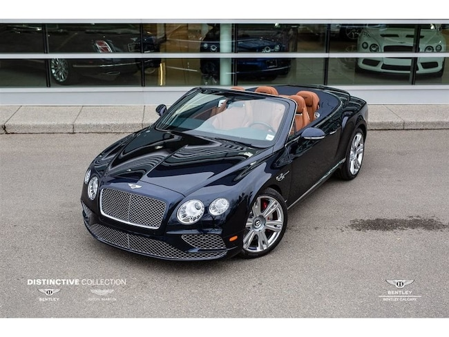 New 2018 Bentley Continental Gt Convertible For Sale Calgary Ab