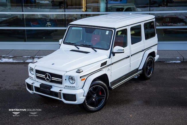 2016 Mercedes-Benz G63 AMG 63 4MATIC SUV
