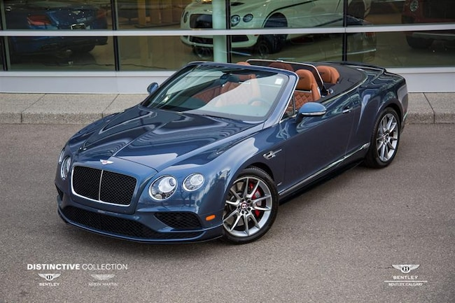 2017 Bentley Continental GT Convertible V8 S