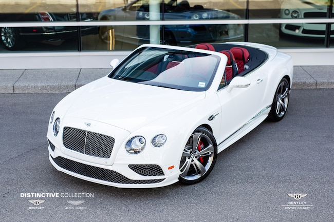 new 2018 bentley continental gt speed convertib for sale | calgary ab
