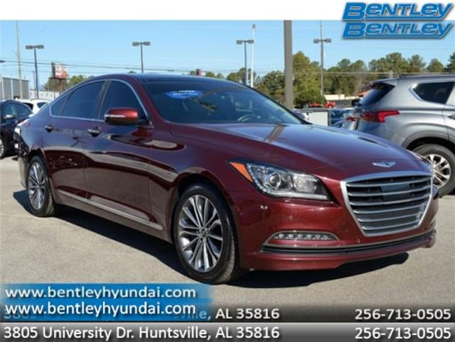 2016 Hyundai Genesis 3.8 Rear-wheel Drive Sedan