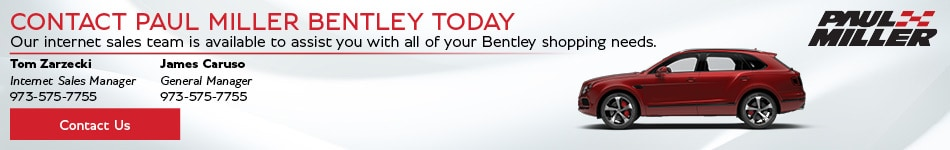 Contact Paul Miller Bentley Today