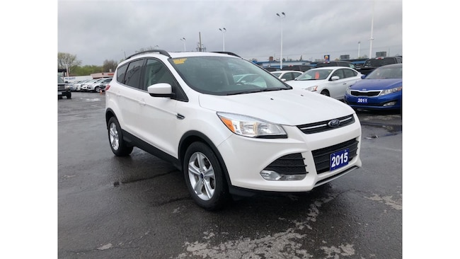 2015 Ford Escape SE FWD LEATHER NAVIGATION TOUCH SCREEN CHROME PKG SUV