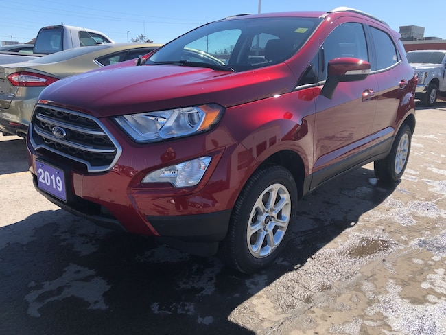 2019 Ford EcoSport SE SUNROOF/SYNC 3 TOUCH SCREEN/CAMERA/BLIND SPOT SPORT UTILITY