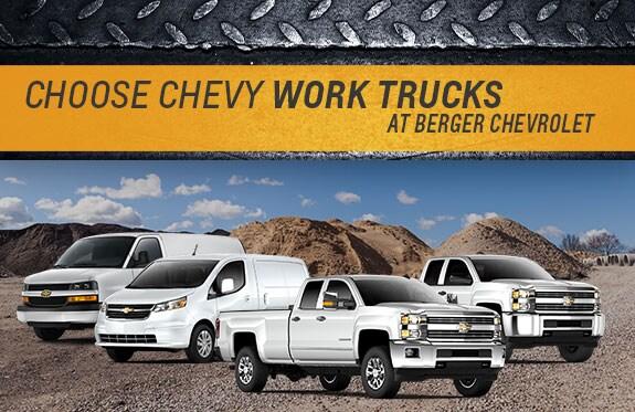 Chevrolet Work Trucks