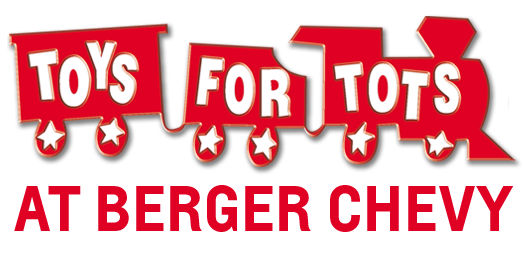 Donate to Toys For Tots this holiday season at Berger Chevrolet in Grand Rapids, MI.