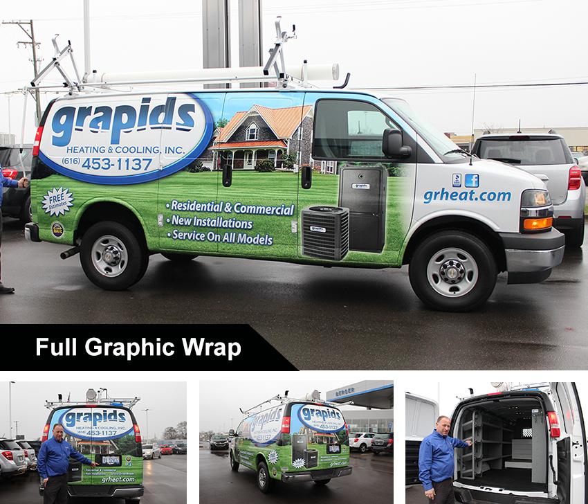 Custom Chevy Express Work Van Cargo Features
