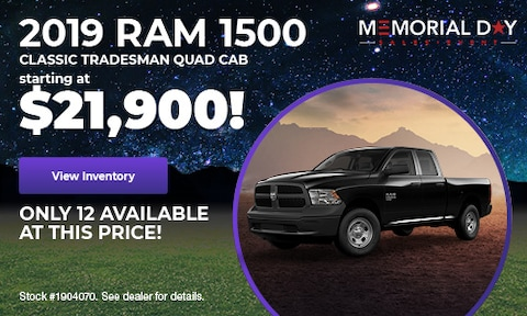 May 2019 | 2019 Ram 1500 Classic Tradesman