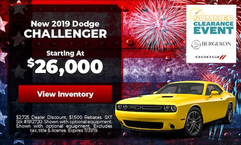 July | Dodge Challenger