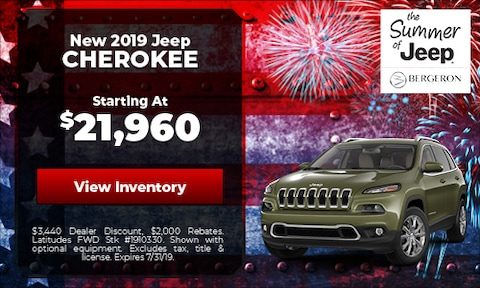July | Jeep Cherokee