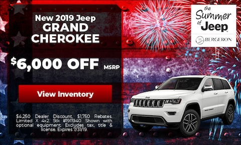 July | Jeep Grand Cherokee