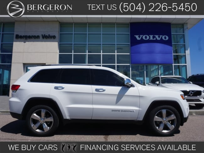 Used 2014 Jeep Grand Cherokee Limited 4x2 SUV for sale in Metairie, LA at Bergeron Chrysler Dodge Jeep Ram SRT Mopar