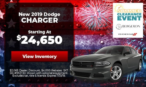 July | Dodge Charger