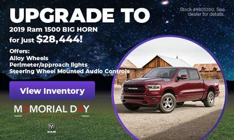 May 2019 | Upgrade 2019 Ram 1500 Big Horn