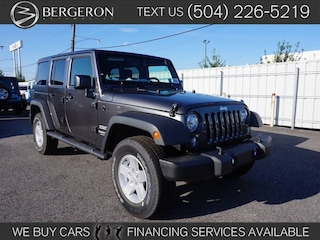 2018 Jeep Wrangler Unlimited WRANGLER JK UNLIMITED SPORT S 4X4 Sport Utility for sale in Metairie at Bergeron Chrysler Dodge Jeep Ram SRT Mopar