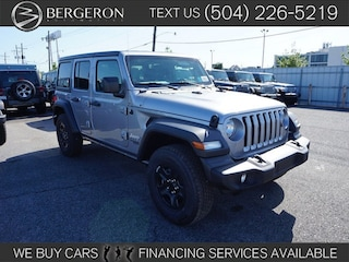 2018 Jeep Wrangler UNLIMITED SPORT 4X4 Sport Utility for sale in Metairie at Bergeron Chrysler Dodge Jeep Ram SRT Mopar